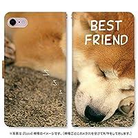スマホ スマートフォン 手帳 スマホケース わんこ写真 【160_秋田犬|ZenFone6 ZS630KL】