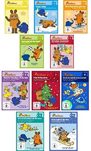 Die Sendung mit der Maus - DVD 1 bis 10 im Set - Deutsche Originalware [10 DVDs]