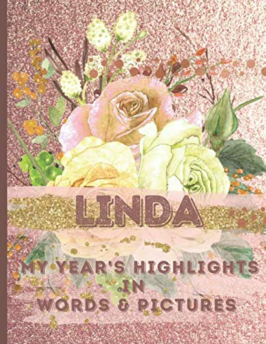 LINDA: Record Your Year's Peak Moments Using This Beautiful Rose Gold Journal to Create a Lasting Keepsake