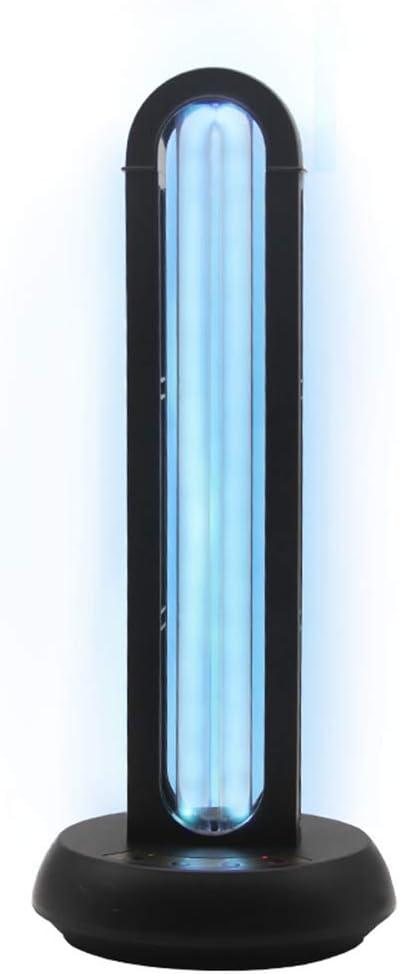 4YANG UV-Desinfektionslicht UV-keimt/ötende Lampe mit Ozonquarzrohr-Desinfektion Antibakterielle Rate 99/% und Fernbedienung Mobiles tragbares Desinfektionslicht Desinfektionslicht