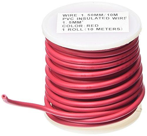 ALTIUM 803291 Câble Electrique, Rouge, 1.5 mm²/10 m