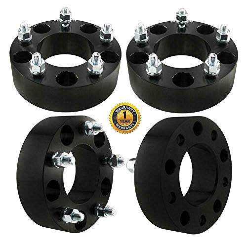 4 5x135mm | 2'(50MM) 87.1mm black Wheel Spacers for Expeition F-150