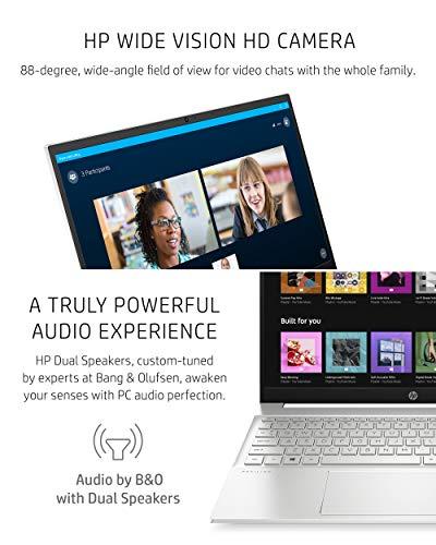 Product Image 4: HP Pavilion 15 Laptop, 11th Gen Intel Core i7-1165G7 Processor, 16 GB RAM, 512 GB SSD Storage, Full HD IPS Micro-Edge Display, Windows 10 Pro, Compact Design, Long Battery Life (15-eg0021nr, 2020)