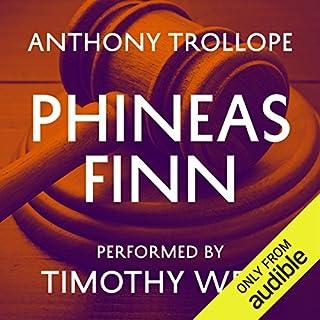 Phineas Finn audiobook cover art