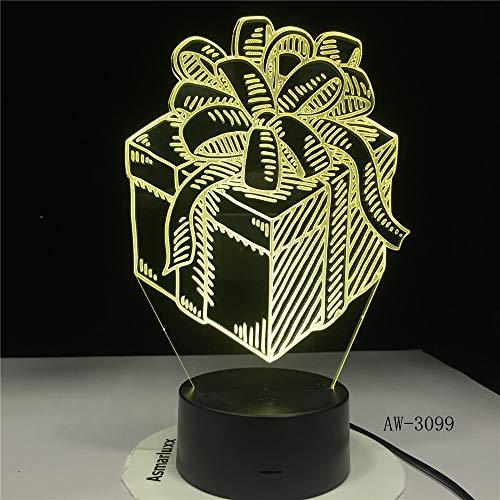 Coffret Cadeau de Nuit Capteur Tactile de Touche de lumière...