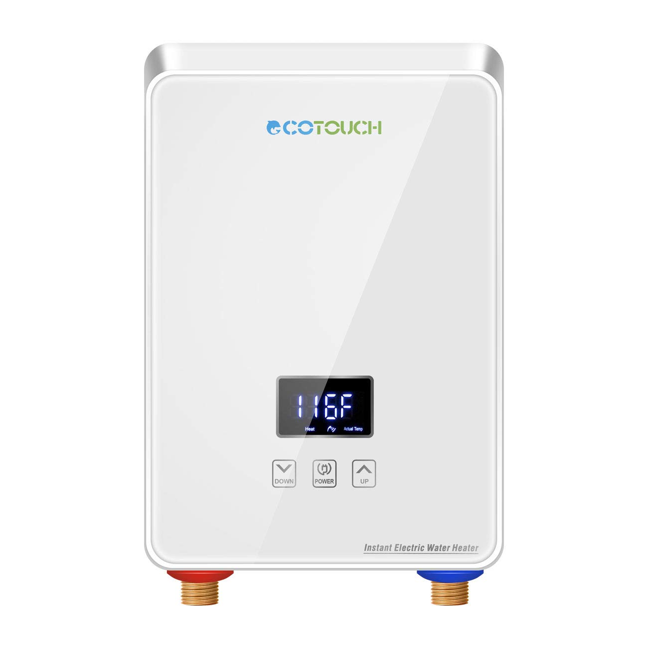 ECOTOUCH Electric Tankless Digital Efficiency