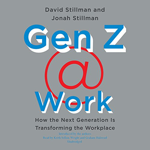 Gen Z @ Work audiobook cover art