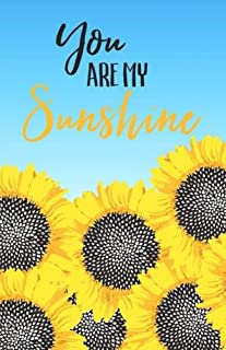 You Are My Sunshine: Bullet Journal Sunflowers Notebook Dotted Grid, (5.5 x 8.5)