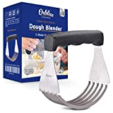 Orblue Pastry Cutter, High Quality Dough Blender with 5 Sturdy Blades Made of Top Quality Stainless Steel...
