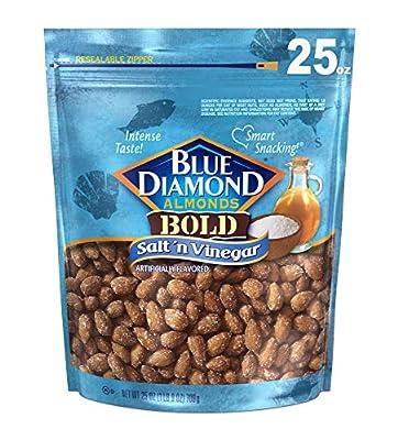 Blue Diamond Almonds Bold Salt and Vinegar, 25 Ounce