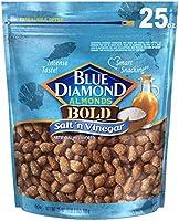 Blue Diamond Almonds Salt N' Vinegar Flavored Snack Nuts, 25 Oz Resealable Bag (Pack of 1)