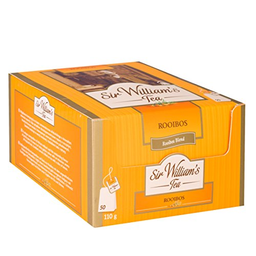 SIR WILLIAM`S ROOIBOS - Beuteltee Rooibos Tee, 50 Stk. Teebeutel je 2,2 g