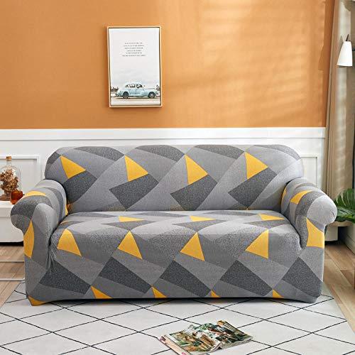 HXTSWGS Fundas de sofá de Alta Elasticidad,Fundas Protectoras de sofá Impresas, para Sala de Estar Funda elástica elástica, Fundas seccionales de sofá de Esquina-Color 3_1-plazas 90-140cm