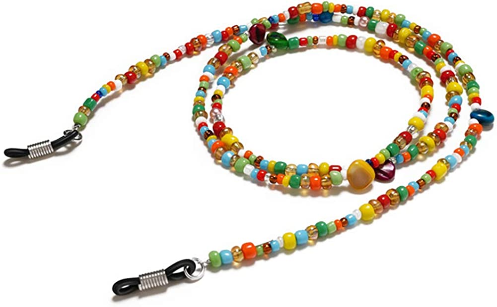 Pinksee Eyeglass Chain for Women Reading Colorful Beaded G lowest price Reservation Girls