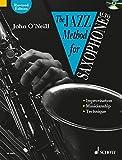 The jazz method for saxophone - alto saxophone +cd (Tutor Book & CD)