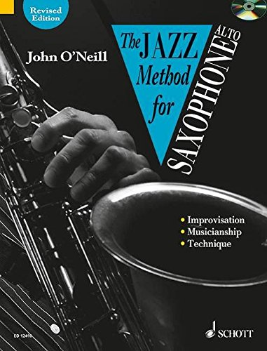 The Jazz Method for Alto Saxophone (Book & CD)