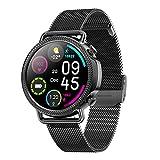 The New Smart Round Watch De Alta Definición V25 Pantalla Completa Pantalla Completa Cámara De Música Tarifa Cardíaca Presión Arterial Mobile Smart Watch,B