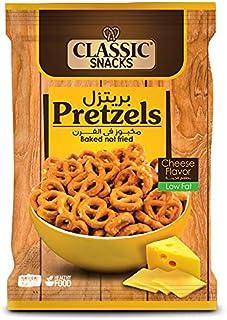 بريتزل بطعم الجبنة من كلاسيك سناكس، 35 جم