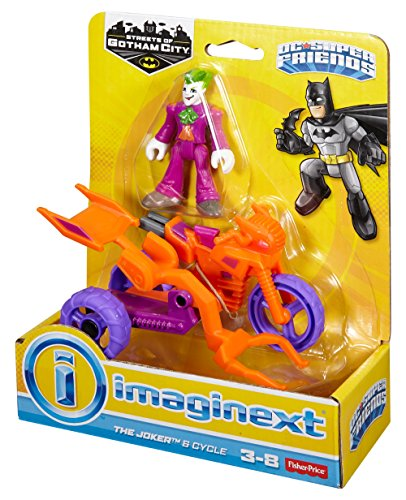 Imaginext 2016 The Joker & Cycle by Streets Of Gotham City 2