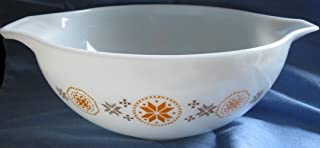 VINTAGE Pyrex Town and Country 4 Qt. Batter Bowl w/ lips as shown