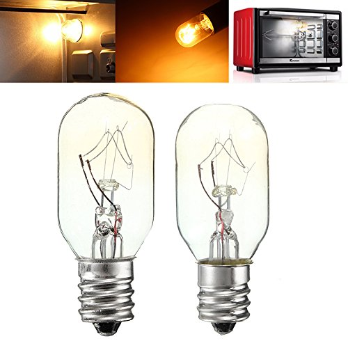 MASUNN 20W/25W 120 V E12 Glühbirnen Glas Glühbirne Kühlschrank Salz Backofen Lampe-25w