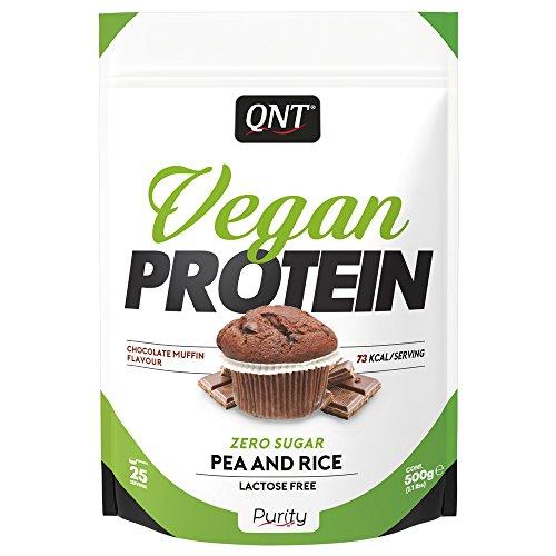 QNT Vegan Protein Chocolate Muffin, 500 g
