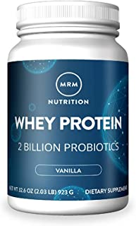 MRM All Natural Whey Protein Powder - 2 lbs -  Rich Vanilla
