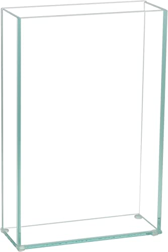 """wholesale Flower sale Glass Vase Decorative discount Centerpiece for Home or Wedding by Royal Imports - Flat Rectangle Plate Glass, 8"""" W x 12"""" H, Clear online"""