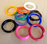 25 Poultry Spiral ID Leg Bands Standard Size 11