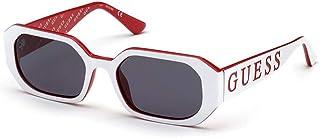 Guess lunettes de soleil GU7694 21A de la fumée Blanche de la taille de 53 mm de Femmes