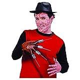 Fiestas Guirca Mano Guanto con Artigli Freddy Krueger Nightmare