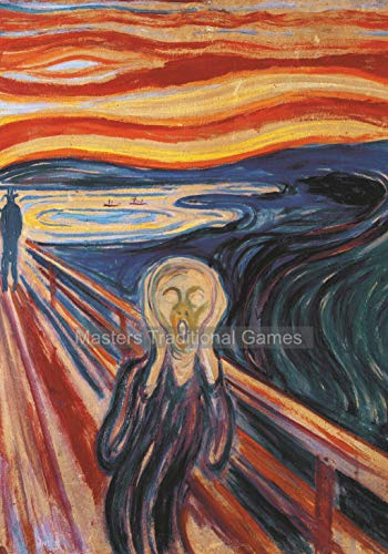 The Scream by Munch 1000 Piece Jigsaw Puzzle