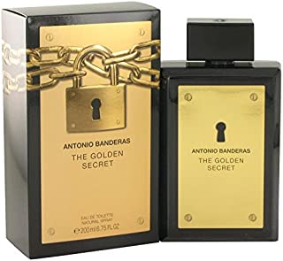 The Golden Secret by Antonio Banderas Eau De Toilette Spray 6.7 oz for Men - 100% Authentic by Antonio Banderas