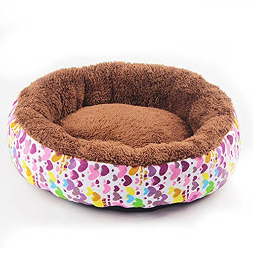 Lozse cojín Caseta para Perros Tela Transpirable canile Gato Cálido múltiple Redondo para el Perro y Mascotas