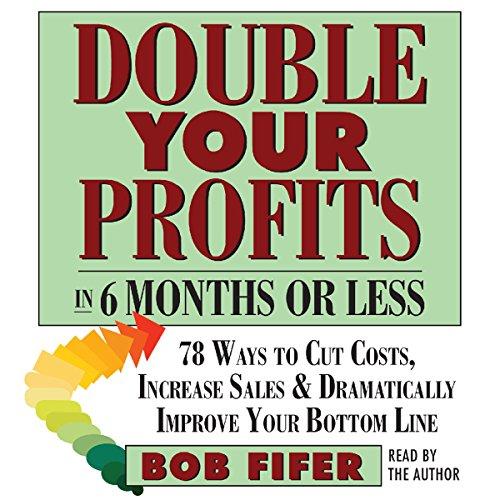Double Your Profits audiobook cover art