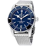 Breitling Watches Breitling Blue Dial Stainless Steel Men's Watch AB2020161C1A1