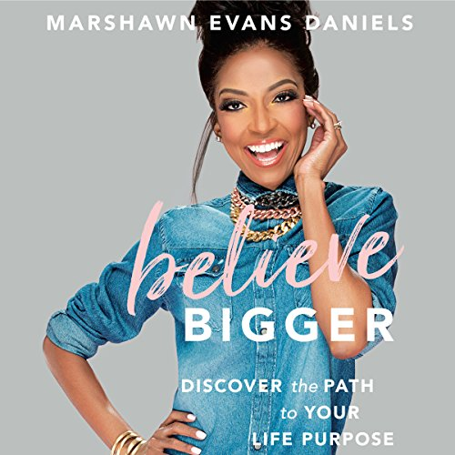 Believe Bigger audiobook cover art