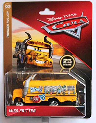 Disney Cars 3 DieCast Deluxe Thunder Hollow Miss Fritter School Bus