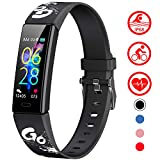 Mgaolo Slim Fitness Tracker for Kids Women,IP68 Waterproof Activity Tracker with Blood...