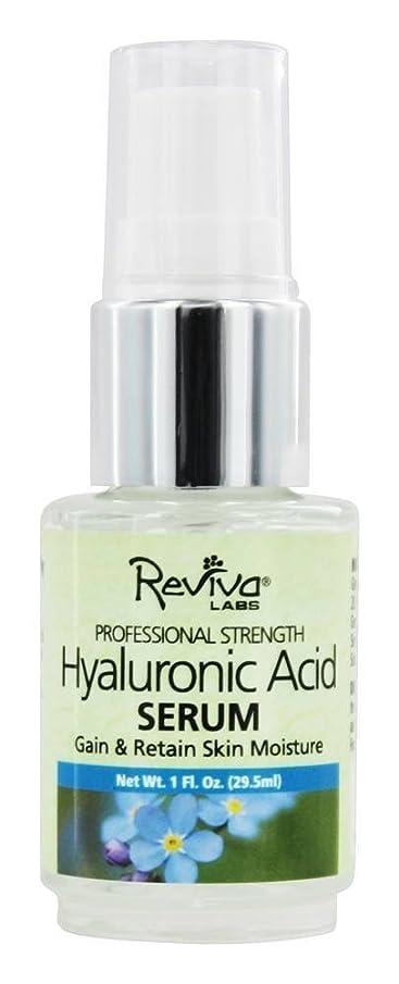 パラシュート水曜日バンカーReviva Labs - Hyaluronic酸の血清 - 1 オンス [並行輸入品]