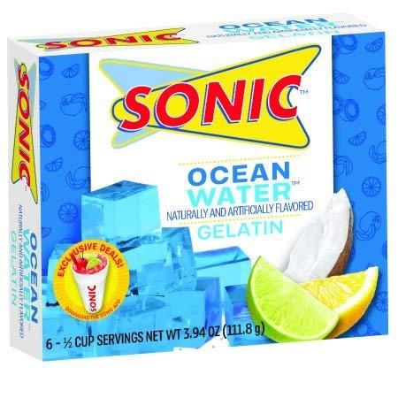 SONIC Ocean Water Gelatin 3.94oz, pack of 1