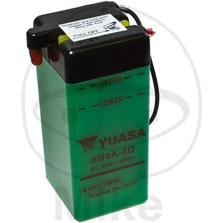 Yuasa Batterie 6n6 1d 2 Offen Ohne Saeure Auto