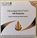 Respro Labs Natural Ashwagandha Patch with Melatonin - Continuous Release - 24 Patches
