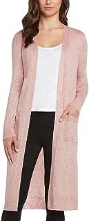 Women's Duster Open Front Knit Cardigan Sweater