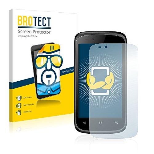 BROTECT Schutzfolie kompatibel mit Haier W716S (2 Stück) klare Bildschirmschutz-Folie