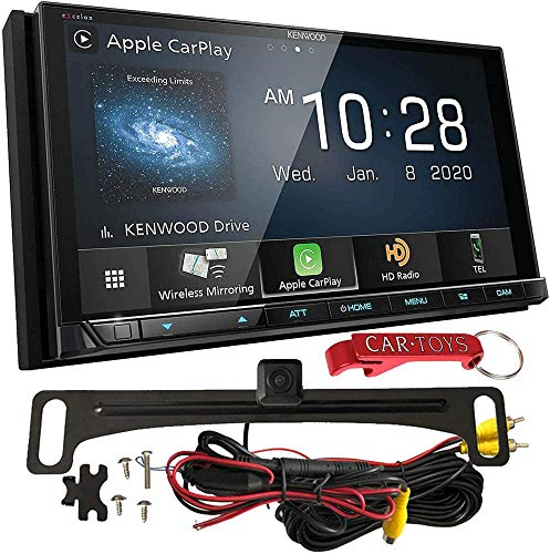 Kenwood Excelon DMX957XR Capacitive Car Stereo Receiver and Backup Camera Bundle