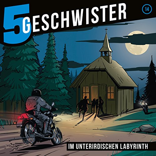 Im unterirdischen Labyrinth     5 Geschwister 14              By:                                                                                                                                 Tobias Schier                               Narrated by:                                                                                                                                 Tjorven Lauber,                                                                                        Sarah Stoffers,                                                                                        Fabian Stumpf,                   and others                 Length: 1 hr and 12 mins     1 rating     Overall 5.0