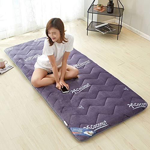 JINDSMART Cojín de colchón de Tatami de futón Respirable, colchoneta para Dormir, tapete de Tatami japonés Tradicional, colchón Plegable