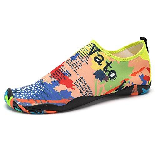 Zapatos de Agua Unisex para Buceo Snorkel Surf Piscina Playa Yoga Deportes Acuáticos