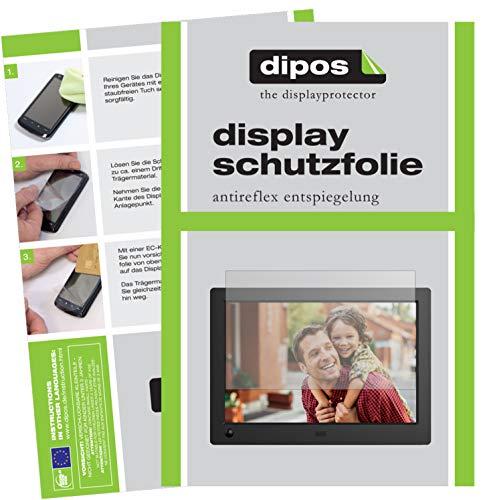 dipos I 6X Schutzfolie matt kompatibel mit NIX Advance 8 Zoll Widescreen Digitaler Bilderrahmen Folie Displayschutzfolie